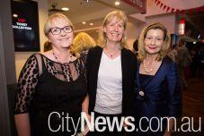 Liz Cuffe, Suzanne Hahnema and Harriet Elvin
