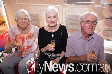 Pat Kneebone, Alison Thomas and Brian Bailey