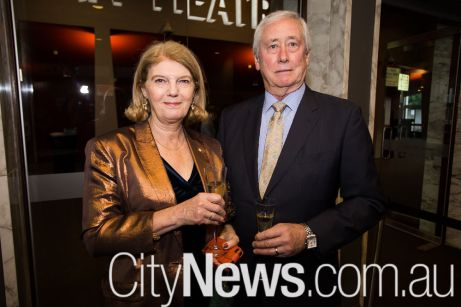 Penny Wensley and Stuart McCosker