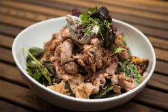 slow-roast-lamb-salad-with-labneh-spiced-kumera-black-quinoa-pepitas-chard-and-herbs-1