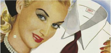 Pelaco's 1949 ad.