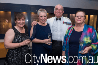 Joanne Davey, Andrea and Mike McMahon and Elissa Bottomley