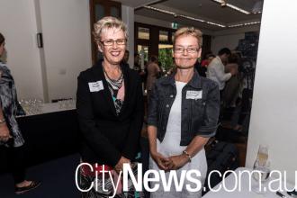 Leanne Blackley and Linda Rasmussen