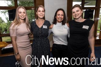 Phoebe White, Amanda Johnston, Samantha de Souza and Sarah Pene