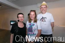 Susan Taylor, Sabrina Baker and Peter Jones