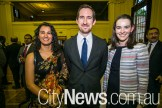 Farheena Rahman, Lachlan McLeod and Amy Prosser