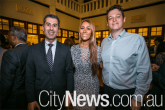 Giscard El Ghoury, Stephanie Jacobs and James Pollalis