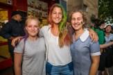Madison Graypar, Frederikke Berg and Alison Barclay