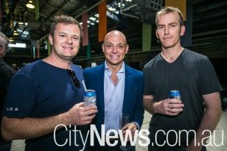 Ray Vance, Chris Rickey and Hamish Paterson