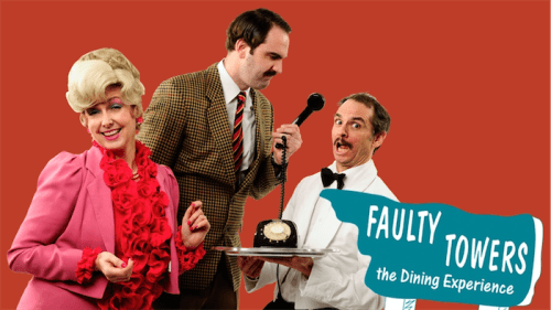 Win dinner and show with Basil, Sybil and Manuel!