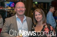 Geoff Williams and Karen Schlizio