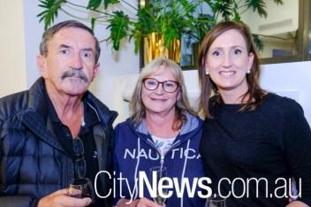 Steven Barr, Donna Warcaba and Julie Belmonte