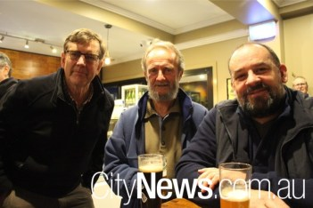 Jim Neely, Ray Sloan and Duncan Rowland