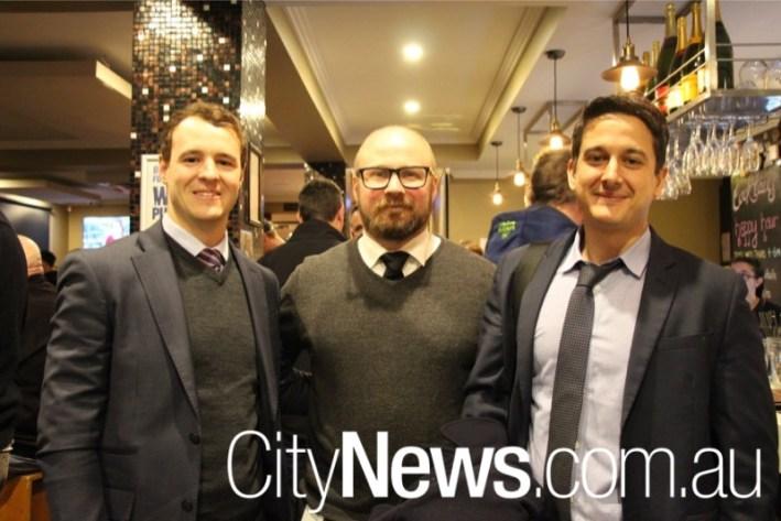 Joey Hancock, Doug Hovi and Francesco Merlino