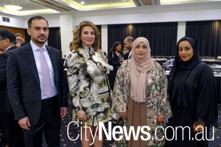 Abdulla Alahmed, Vivian Noja, Roda Almansoori and Asma Alyammahi