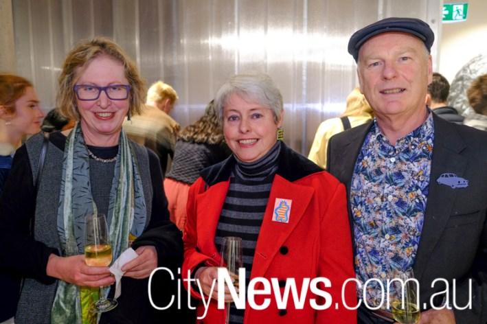 Alison Barnes, Amanda Biggs and Neil Doody