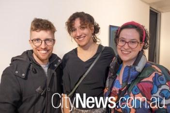 James Lieutenant, Yvette Hamilton and Kate Vassallo