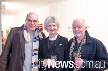 Neil Hobbs, Karina Harris and Robert Boynes