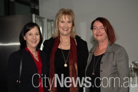 Felicity Bruce, PJ Ashley and Marion Stokes