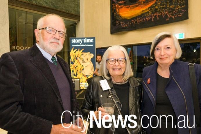 George and Margaret Nicholls with Kerry Blackburn