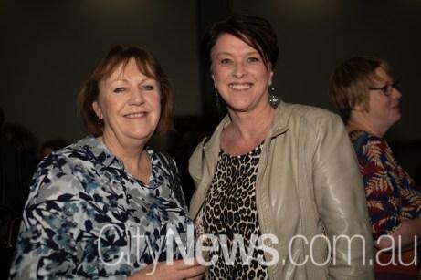 Jackie Harding and Lisa West