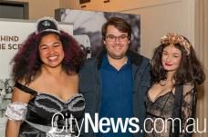 Malia Naupoto, Brent O'Toole and Eloise Holt