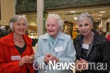 Marion Amies, Joy Wheatley and Kay Tremble