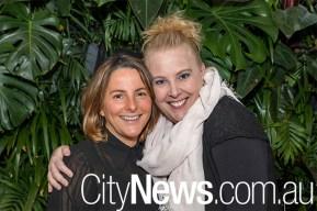 Sarah Coxon and Kylie Huckel