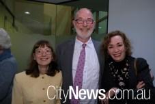 Amanda Reynolds, John Little and Judy Patten