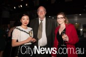 Candice Zhang, Don McInnes and Kayleigh McNabb