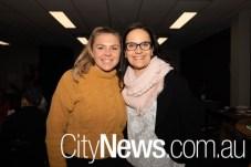 Elle Greet and Veronika Pasalic