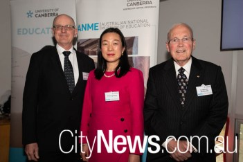 Geoffrey Crisp, Ting Wang and Malcolm Beazley