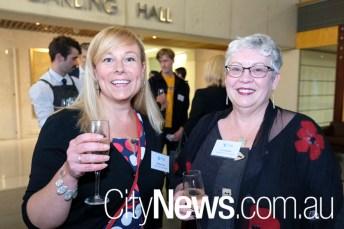 Maddie Sinclair and Lisa Teasdale