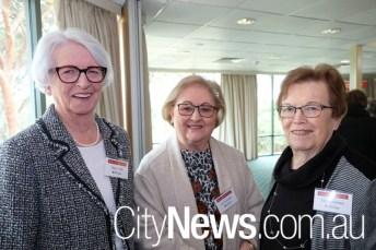 Marie Flint, Sue Wickham and Tory Greeney
