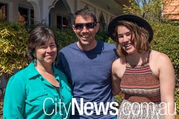 Nikkie, Justin and Breanna Macey