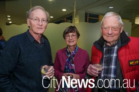 Roger Ellyard, Trixie van Leeuwen and Andrew Smith
