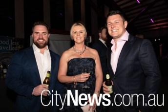 Sean Hague, Kirsty Teer and Josh Hogan