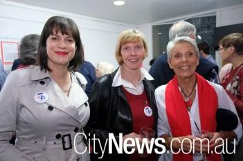 Caitlin Clark, Diane Grayson and Nicole Richard