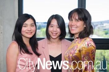 Erisa Harada, Emily Chan and Susan Dedman