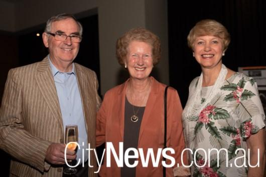 Richard Wood, Lesma Wood and Sue Gage