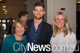 Carol Macdonald, Jacob Fitzroy and Lauren Dixon
