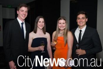 Jack Burns, Rebecca Thompson, Casey MacDonald-Smith and Henry Mahony