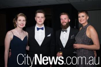 Liz Lambert, Lachlan McDiarmid, Rhys Hardy and Lisa Jokinen