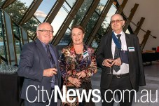 Peter Strong, Tanya Lynch and Geoffrey Crisp