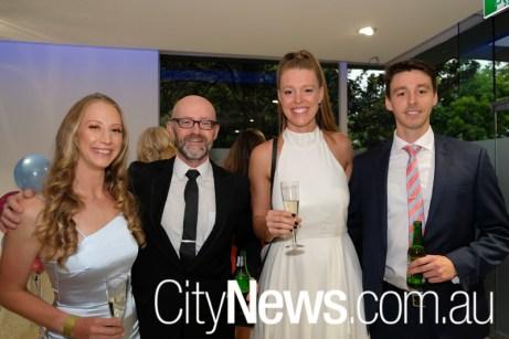 Tiahna Junakovic, Matthew Hills, Eloise Good and William Duddy