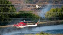 The January 22 Pialligo fire. Photo: Andrew Campbell.