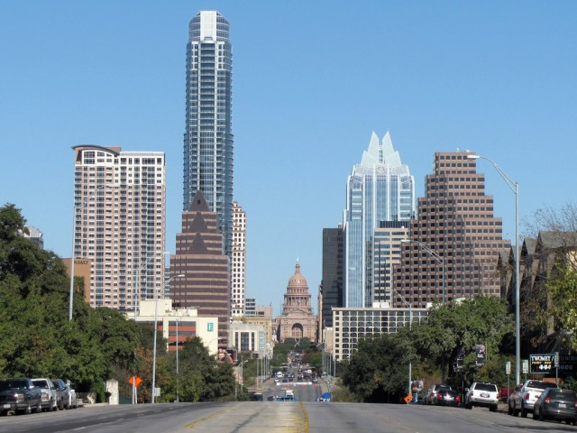 Are jobs coming back to downtowns like Austin's? Credit: Michael, Flickr