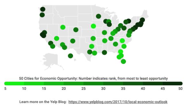 (Yelp: Local economic outlook)