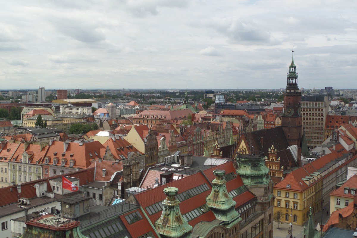 Around Poland: 5 Cities, a Polish Wedding and a Lost Journal