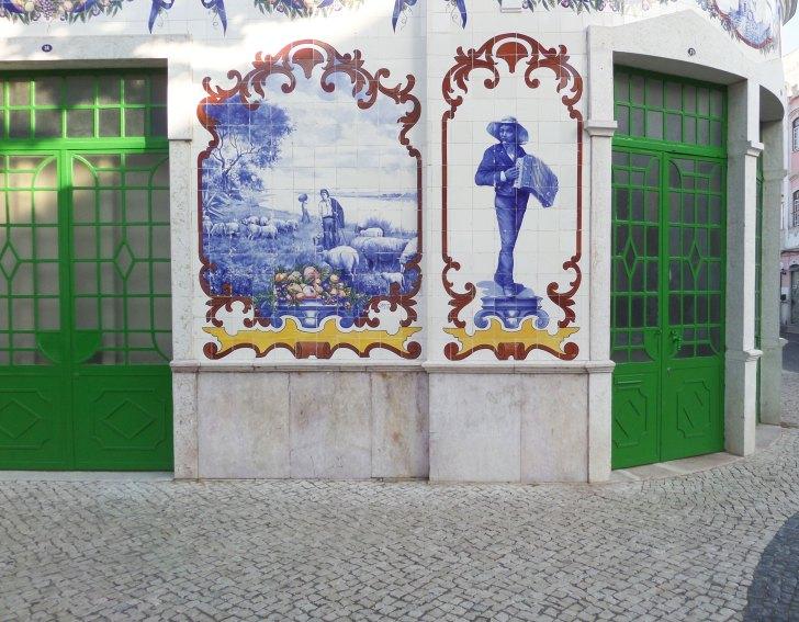Azulejos Mercado Vila Franca de Xira